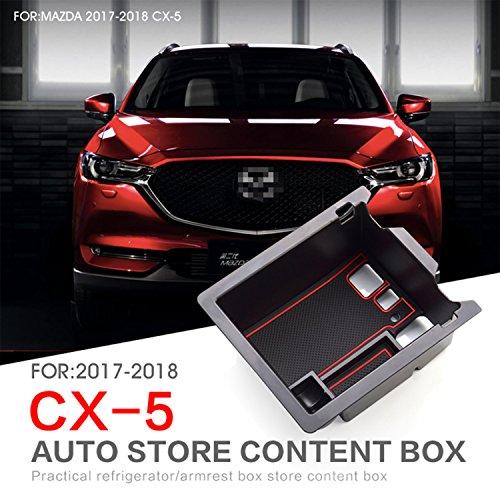LFOTPP CX-5 Apoyabrazos Consola Central Bandeja, CX5 Caja de