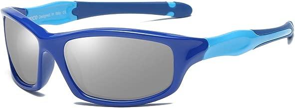 Duco Kids Polarized Sunglasses Childrens Sunglasses Flexible Frame For Boys and Girls K006