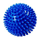 Yamkas Bola de Masaje Punta 6cm | Masajeador Pies, Espalda, Cuello | Pelota de Lacrosse | Spike Massage Ball Fascitis Plantar
