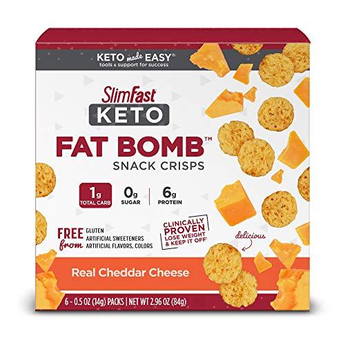 SlimFast Keto Fat Bomb Snacks | Amazon
