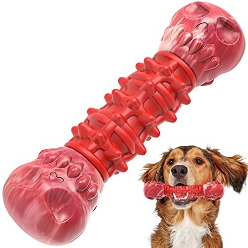 G.C Giocattoli per Cani Indistruttibile, Giochi per Cani Grandi Osso per Cani da Masticare Resistenti Spazzolino da Denti Gioco Cane Cuccioli Piccoli