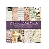 Busquets - Papeles Decorados Scrapbooking Arlet 30,5x30,5