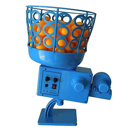 ZXLIFE@@ Machine De Sortie De Balle De Tennis De Table Grande Sortie, Robot De Tennis De Table avec 50 Balles,...