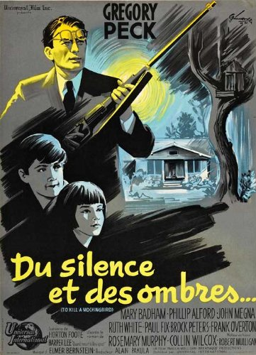 Pop Culture Graphics to Kill a Mockingbird Poster French 27x40 Gregory Peck Brock Peters Phillip Alford