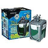 Boyu Filtro externo de flujo ajustable para tanque de peces acuario 300-1610 L/H opcional UVC (DGN-410A (sin UV))
