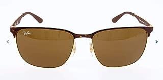 RB3569 Square Metal Sunglasses
