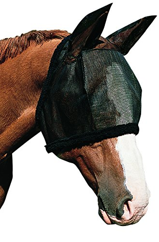 Weaver Leather Fly Mask with Ears, Pink, Medium