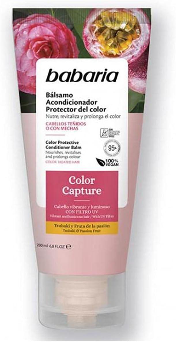 Babaria Bálsamo Acondicionador Protector Del Color. Color Capture, 200 Ml., Fresco