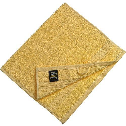 Myrtle Beach - serviette de toilette invité - jaune clair - 30 x 50 cm - MB420