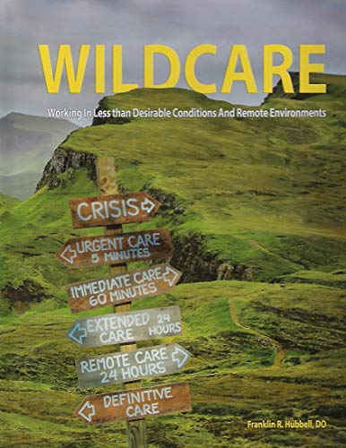 Wildcare Working in Less Than Desirable Conditions and Remote Environments