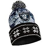 NFL Oakland Raiders Light Up Knit Hat