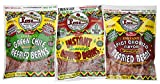 Three flavors! One pack each of Original, Green Chile, and Spicy Chorizo 0 grams Trans Fat Microwaveable Instant - Just add water and cook