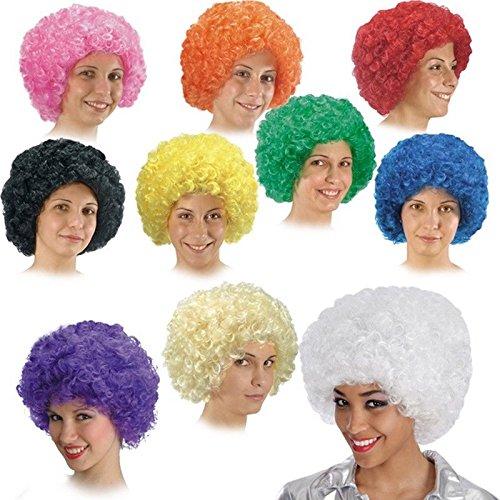 Perruque Affro Afro Cheveux bouclé Blond - Accessoire Deguisement -191