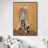 Gemälde Wandkunst Tierplakat und Drucke Mode Leinwand Malerei für Wohnzimmer Home Decor