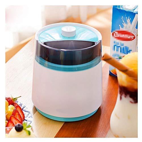 LKOER Helado eléctrico de 800 ml, máquina de Helado automático, fácil de Limpiar con función de Tiempo Helado jinyang