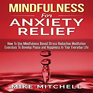 Mindfulness for Anxiety Relief cover art