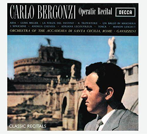 Carlo Bergonzi, Orchestra dell'Accademia Nazionale di Santa Cecilia & Gianandrea Gavazzeni