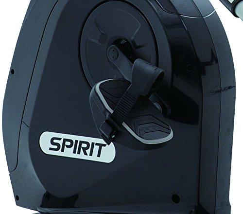 """Spirit Fitness Bike XBR 95 – Heimtrainer, Sitz-Ergometer, 12 Programme, 13,5kg Schwungrad, 7,5"""" LCD - 6"""