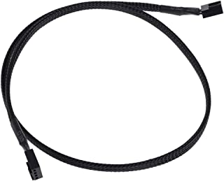 Phobya 0 4Pin PWM Male to Male 60cm - Black Cables Ventiladores Cables & Adaptadores