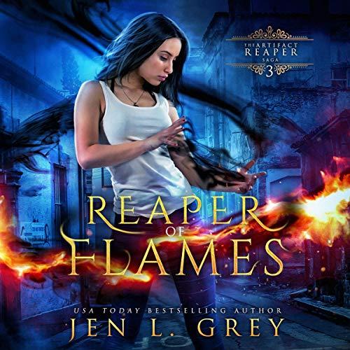 Reaper of Flames Audiobook By Jen L. Grey cover art