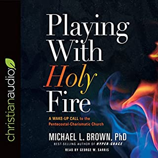 Playing with Holy Fire audiobook cover art