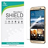 RinoGear HTC One M9 Screen Protector Case Friendly Screen Protector for HTC One M9 Accessory Full Coverage Clear Film
