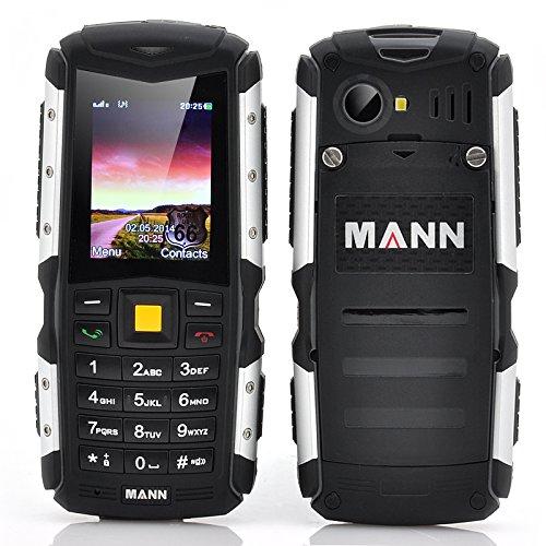 MANN ZUG S robusto Telefono - 5,08 cm display, IP67 impermeabile e a prova di polvere +, antiurto, 2570 mAh batteria