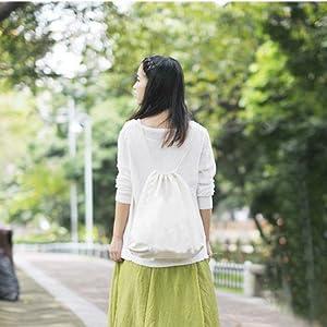 51lewyA8s8L. SL500 . SS300  - LAAT Bolsa y mochila de tela de algodón unisex para niños o adolescentes, diseño con dibujos de animales