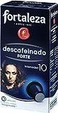 Café FORTALEZA - Cápsulas de Café Descafeinado Forte Compatibles con Nespresso - Pack 5 x 10 -...