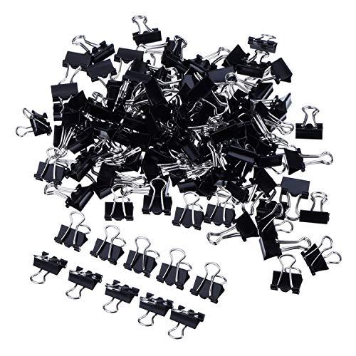 Sunnysam Mini-Pinzetten, zum Zeichnen von Papier, Metallclips, 2 x 60 Stück (15 mm) (2 x 60 Stück, 15 mm)