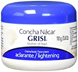Grisi Concha Nacar Mother of Pearl Face & Body Lightening Cream 3.8oz New by Grisi