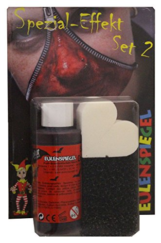 Eulenspiegel Spezial Effekt Set 2 Halloween Schminke