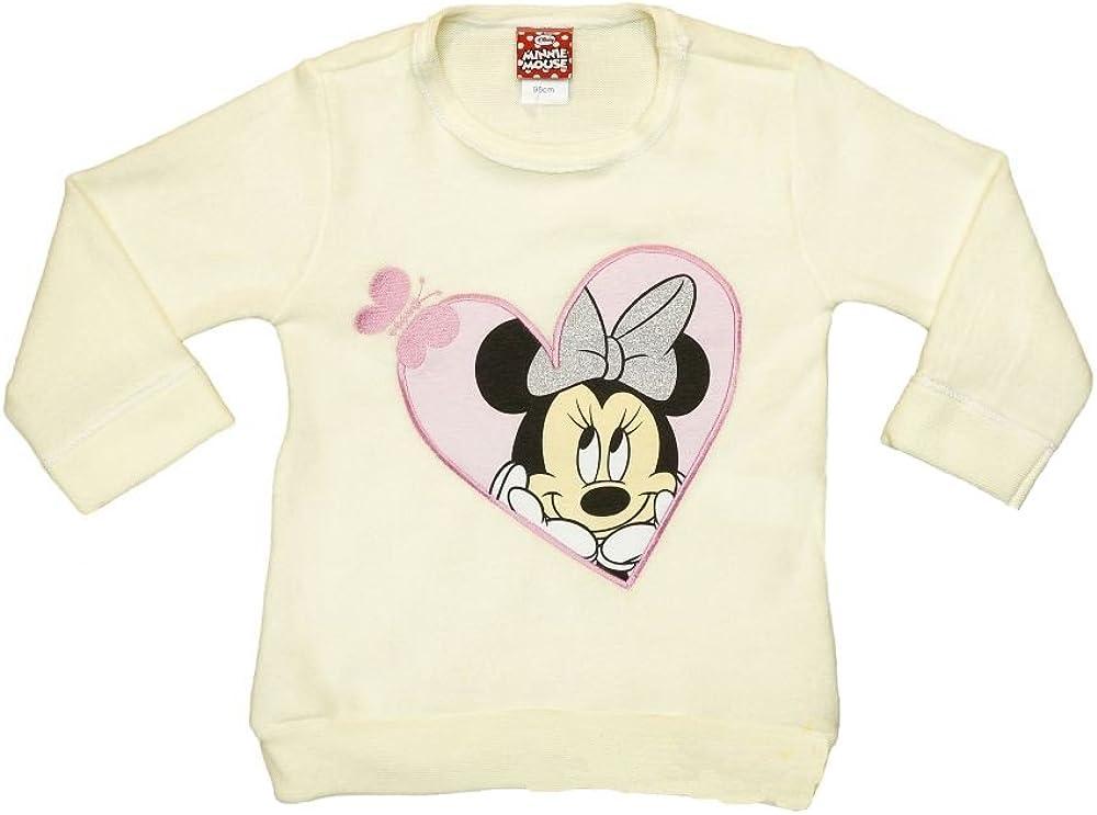 Disney Baby Minnie Mouse M/ädchen Pullover Pulli Oberteil in Beige oder in Grau in Gr/ö/ße 80 86 92 98 104 110 116 122 Baumwolle Langarm Jacke Winter Geschenk