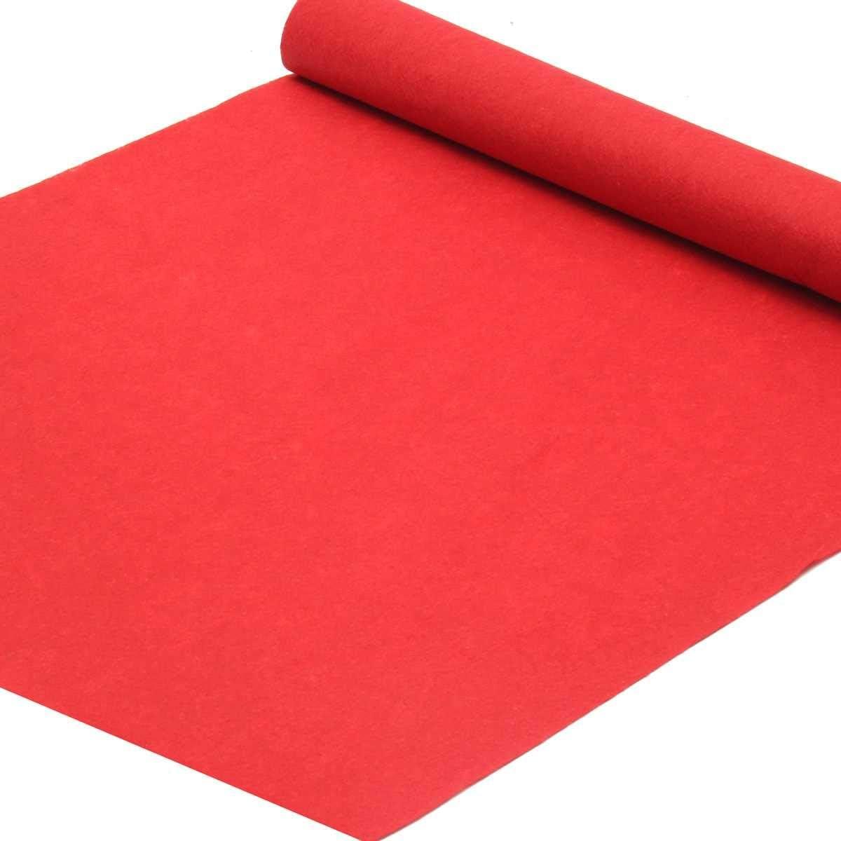BINGHC Carpet 6 9 13 15m Mats for Aisle Max 90% OFF Outdoor Red Regular discount Wedd