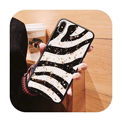 Phone cover Para Redmi Note 8 Pro Case Glitter Gold Foil