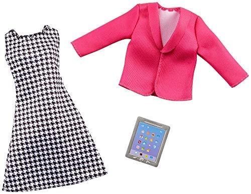 Barbie GHX40 - Muñeca para profesora, vestido, chaqueta y tablet