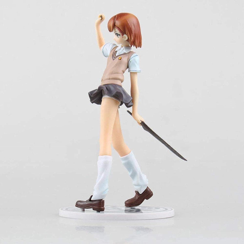 School Uniform New mail Gorgeous order Misaka Mikoto Anime Character Figures Statu Model