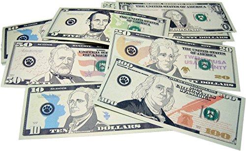 Teacher Created Resources 20638 Play Money: Assorted Bills