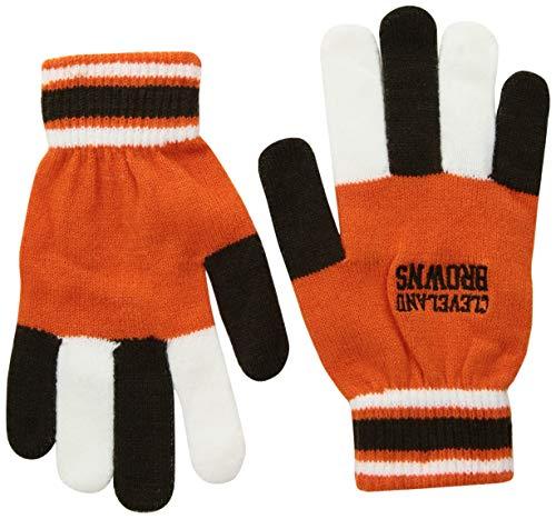 FOCO NFL Cleveland Browns Multi Color Team Knit Glove