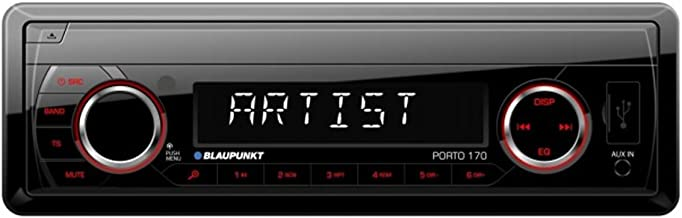 Blaupunkt Autorradio Deckless Porto 170 USB, SD, MP3, Negro