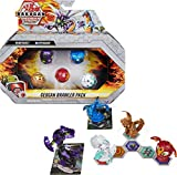 Bakugan Geogan Brawler 5-Pack, Exclusive Mutasect and Viperagon Geogan and 3 Collectible Action Figures, Kids Toys for Boys