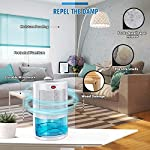 Gocheer upgraded dehumidifier for home,up to 480 sq. Ft dehumidifiers for high humidity in basements bedroom closet… 9 high effectively dehumidifier:comes with a 2000ml(68oz) water tank which can quickly and effectively remove up to 1000ml(34oz,temperature: 86 °f humidity: 80% rh) of moisture from the air per day. Keep your home comfortable and healthier all the time. Application area:up to 480 sq. Ft,this household portable small dehumidifier is widely used in all kinds of scenes such as your home,bathroom,living room,bedroom,closet,kitchen,which can efficiently meet your daily needs for removing moisture. Upgraded energy saving:compared with bulky compressor dehumidifiers,our compact home dehumidifier equips with semiconductor condensation technology which can ensure maximum water extraction with minimum power use.