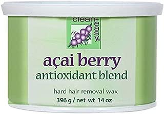 Clean + Easy Acai Berry Hard Wax 14 oz