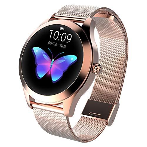 EisEyen Intelligent fitnesshorloge, waterdicht, intelligente armband, fitness-horloge, stopwatch, armband van stalen band voor dames en heren