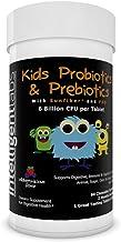 6 Billion CFU Kids / Children's Probiotics with Prebiotics, Sunfiber and Fos, for 10x More Effectiveness. One A Day Great ...