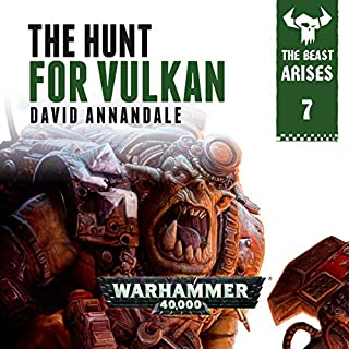 The Hunt For Vulkan: Warhammer 40,000 cover art