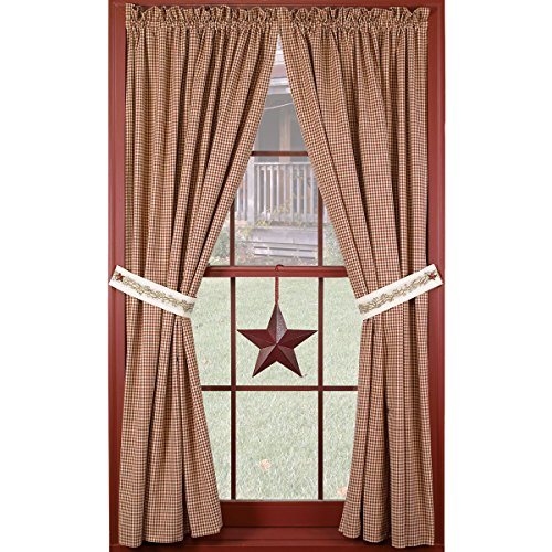"Berry Vine 63"" Curtain Panels"