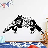 Tianpengyuanshuai Dibujos Animados Dragon Ball Etiqueta de la Pared Animal bebé decoración Personalizada 43x19 cm