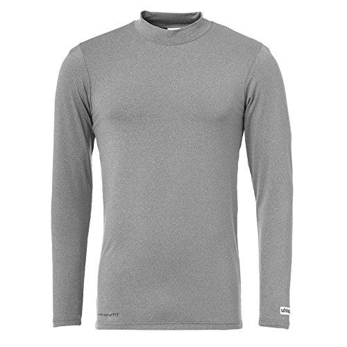 uhlsport Herren Distinction Colors Baselayer Training Top, Dark Grey Melange, L