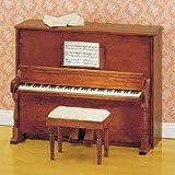 MiniMundus Klavier mit Hocker für das Puppenhaus, Bausatz